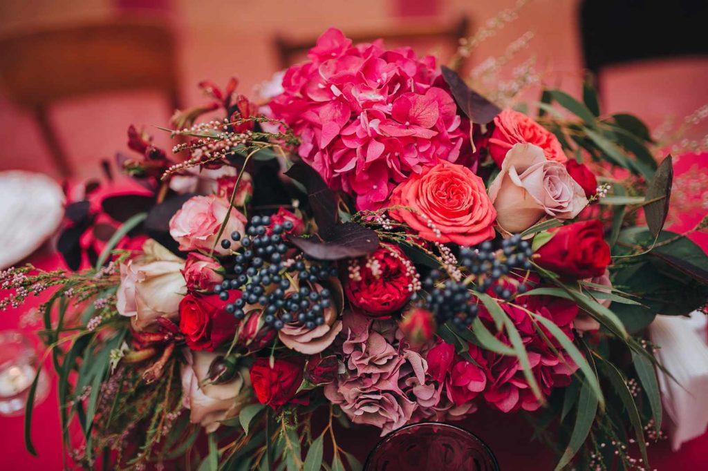 Ein herbstlicher Brautstrauß