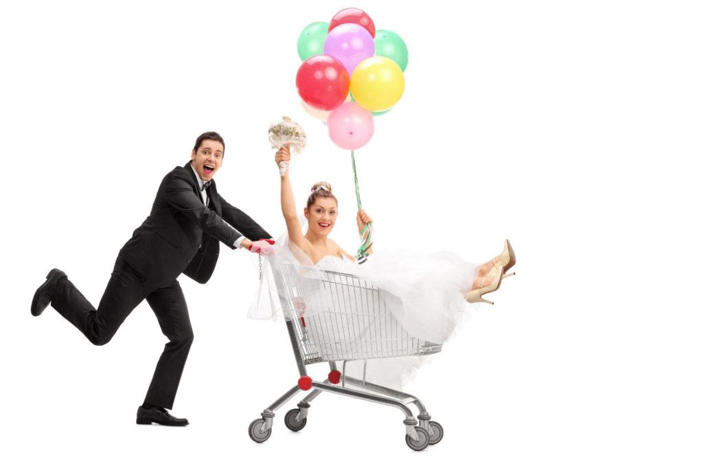 Hochzeit beim Discounter