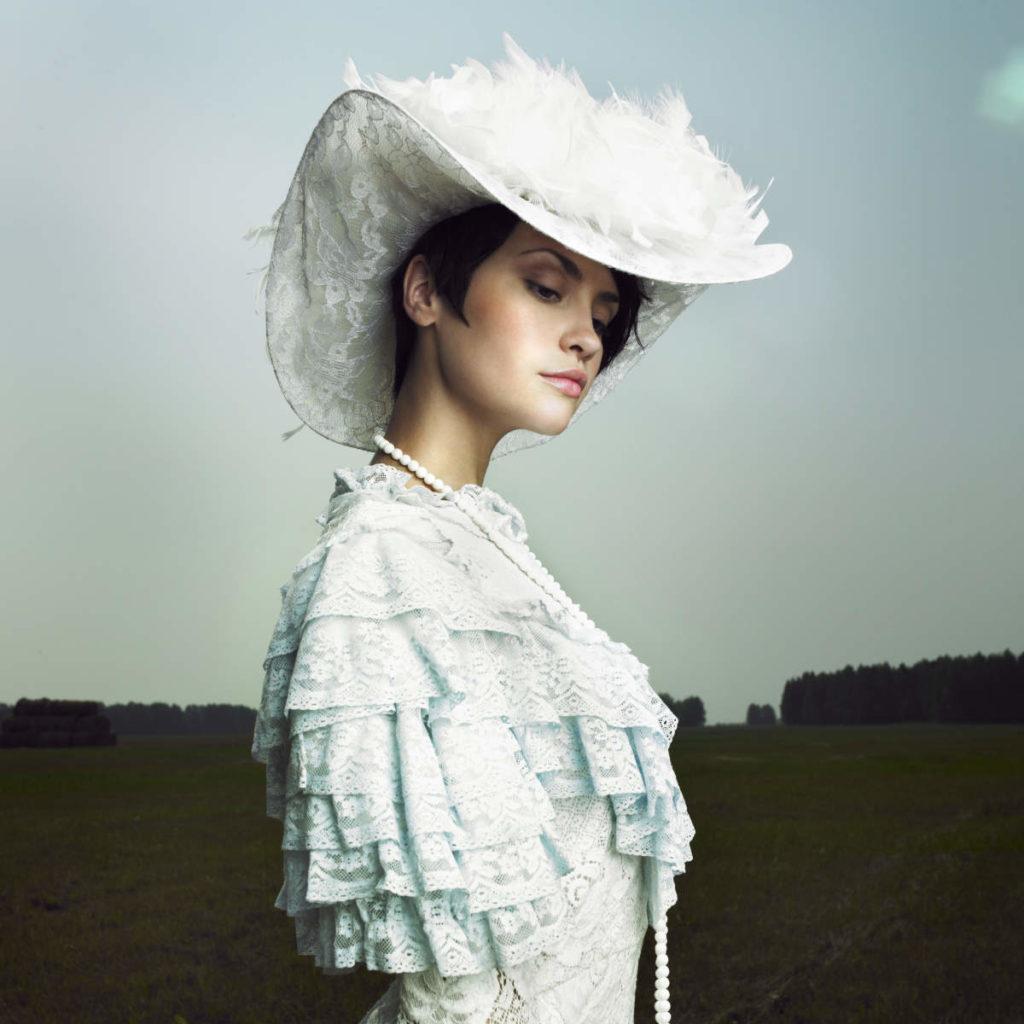 Vintage Stil Braut