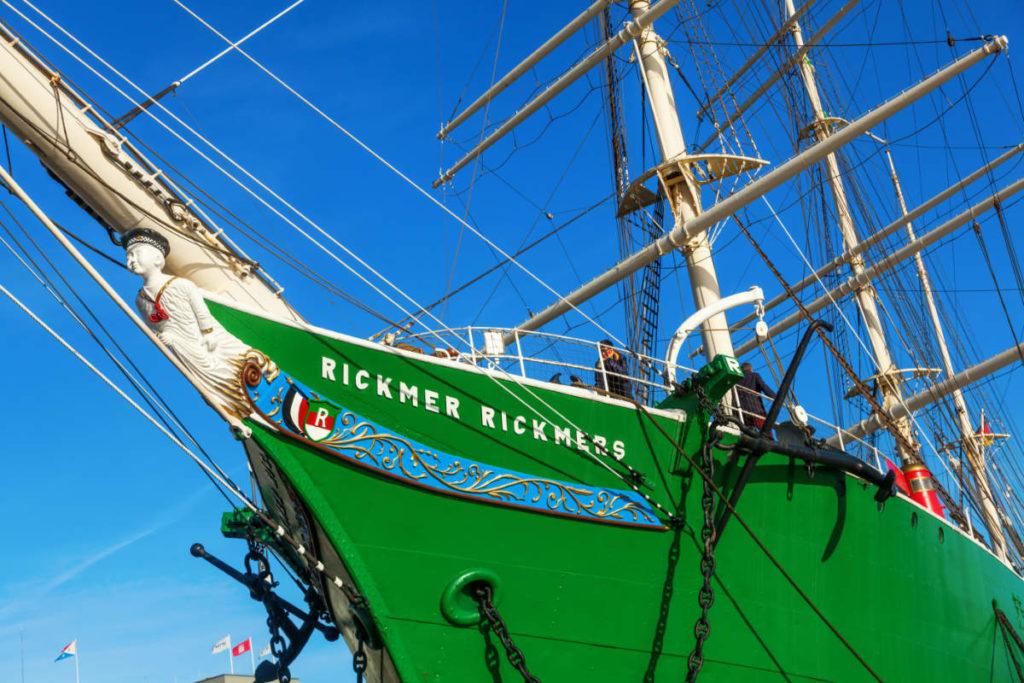 Museumsschiff Rickmers Rickmers. Der ideale Platz um in Hamburg zu heiraten.