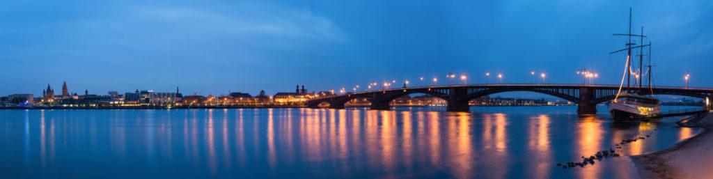 Panorama von Mainz. Header zum Thema heiraten in Mainz