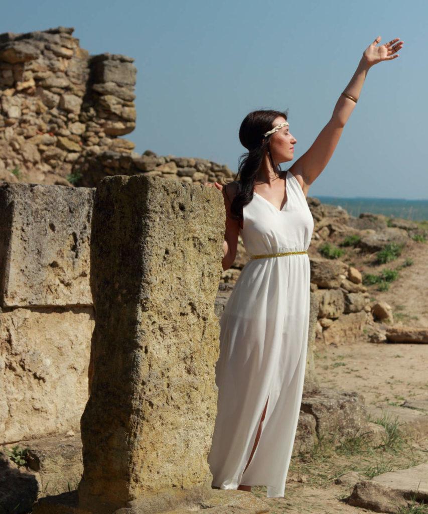 Braut aus dem Antiken Griechenland