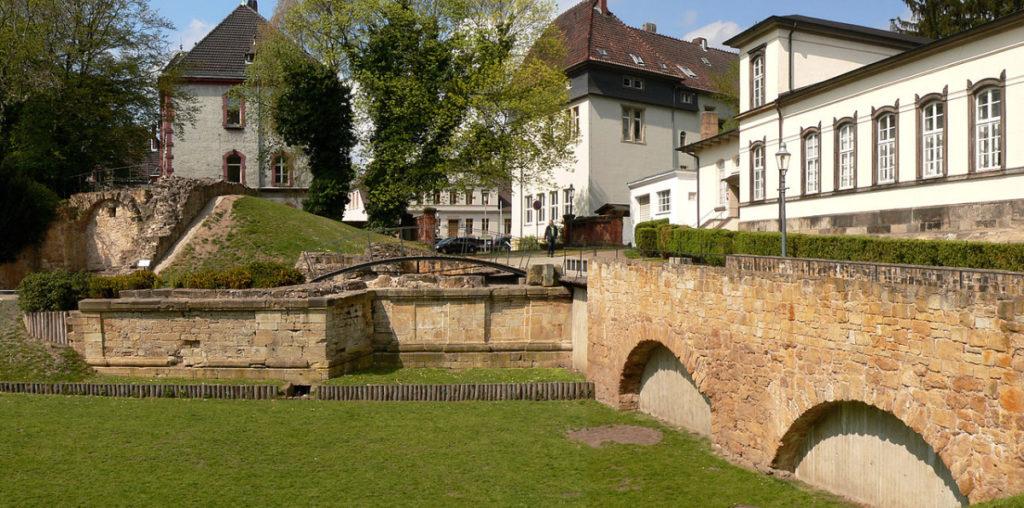 Innenstadt von Peine - Die Reste der Burg
