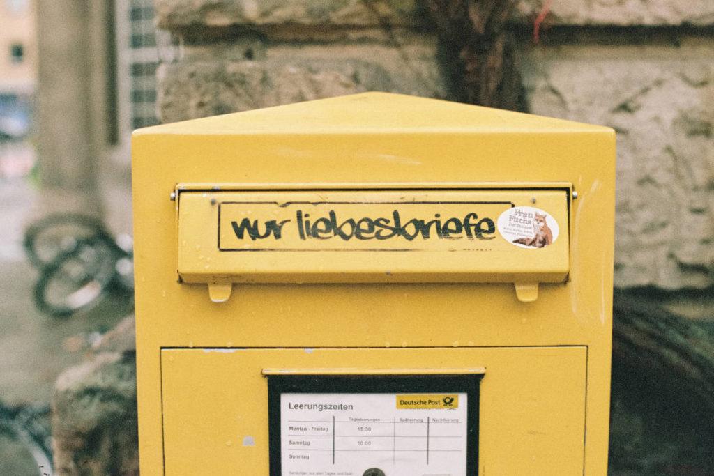 Briefkasten nur für Liebesbriefe