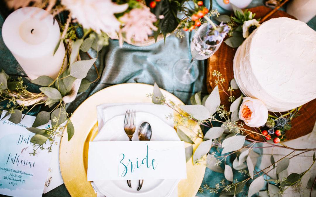 Tischkarten – Das Tüpfelchen auf dem I der Tischdeko