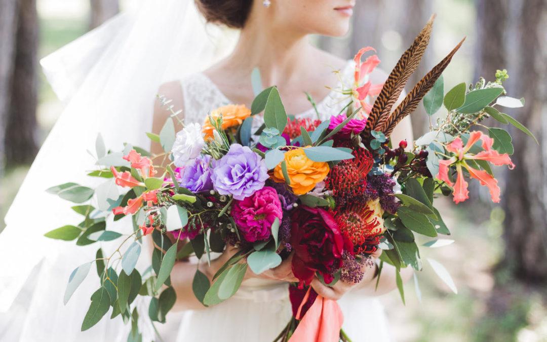 Boho Brautstrauß für deine Boho Hochzeit