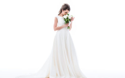 So stylst du dein Hochzeitskleid im klassisch eleganten Stil